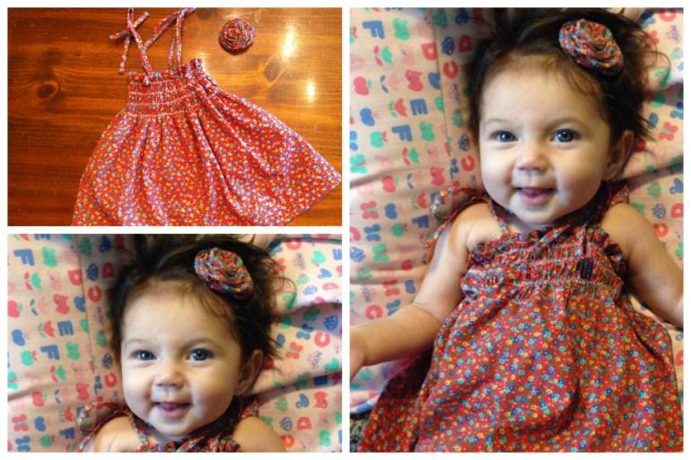 Layla in her Sun Dress