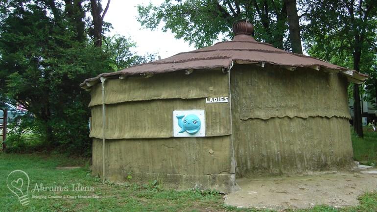 blue whale Catoosa Oklahoma tiki restrooms