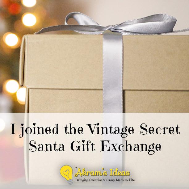 Akram's Ideas: Vintage Secret Santa