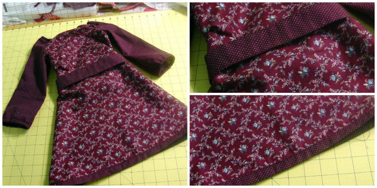 Akram's Ideas: Peasant Dress Completed