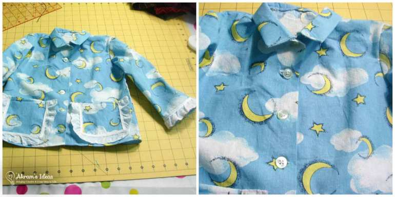 Akram's Ideas: Vintage Simplicity 5103 Pajama completed shirt