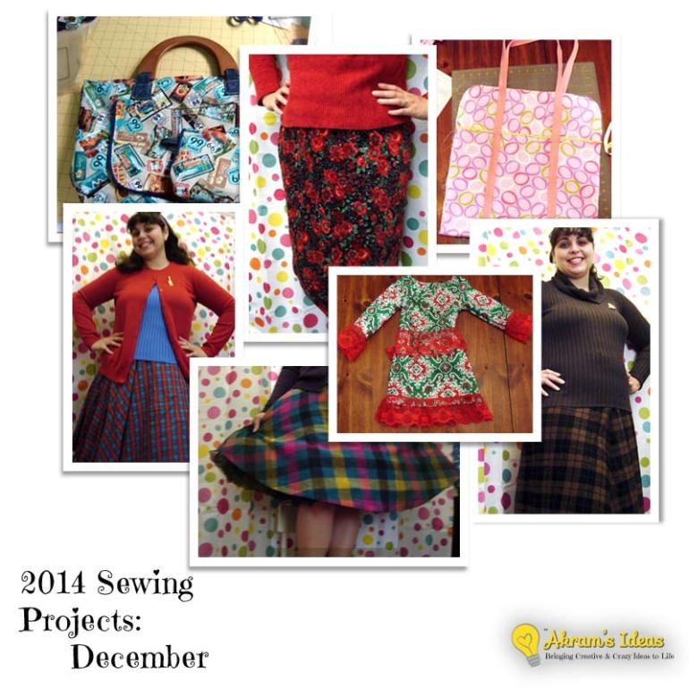 2014 Sewing Projects : Dec