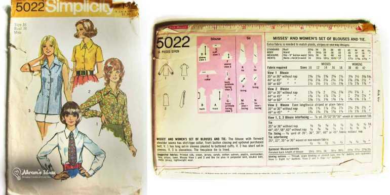 1972 Simplicity 5022
