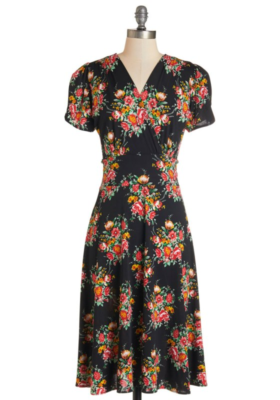 One Floral, All For One Dress by Modcloth