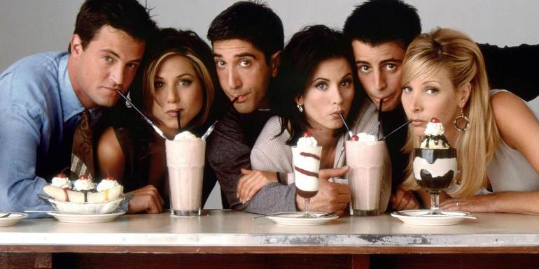 Watch old TV shows like Friends