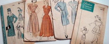 Akram's Ideas : Vintage Pattern Stash