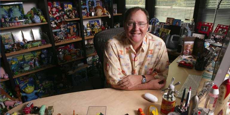 John Lasseter Office Full of Toys