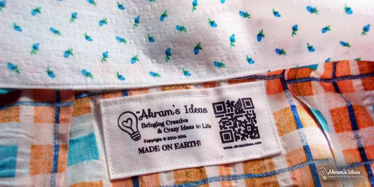 Akram's Ideas Sewing Tag