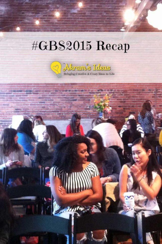 #GBS2015 Recap