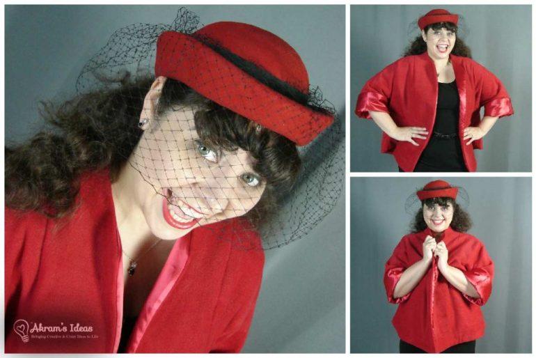 More fun shots of me in my swing coat