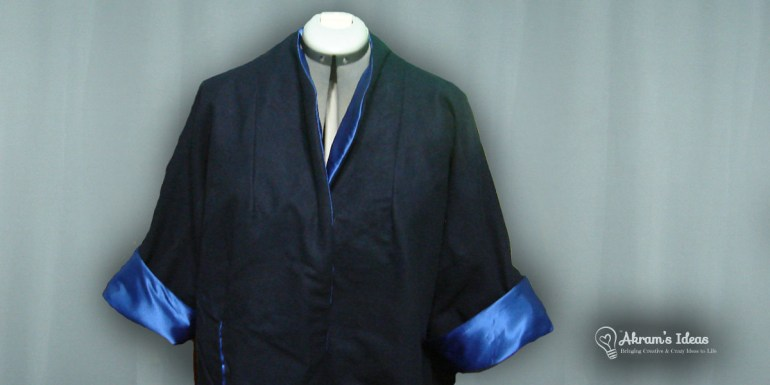 My trial run at making the coat