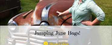 Akram's Ideas: Jumping June Bugs