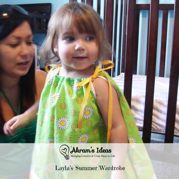 Akram's Ideas: Layla's Summer Wardrobe