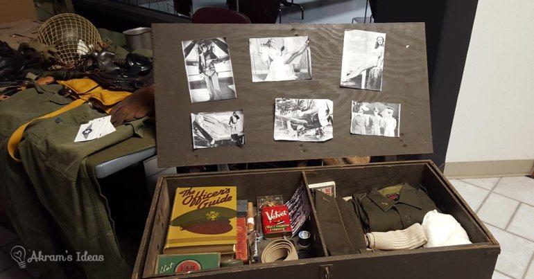 Akram's Ideas: WWII soldiers trunk