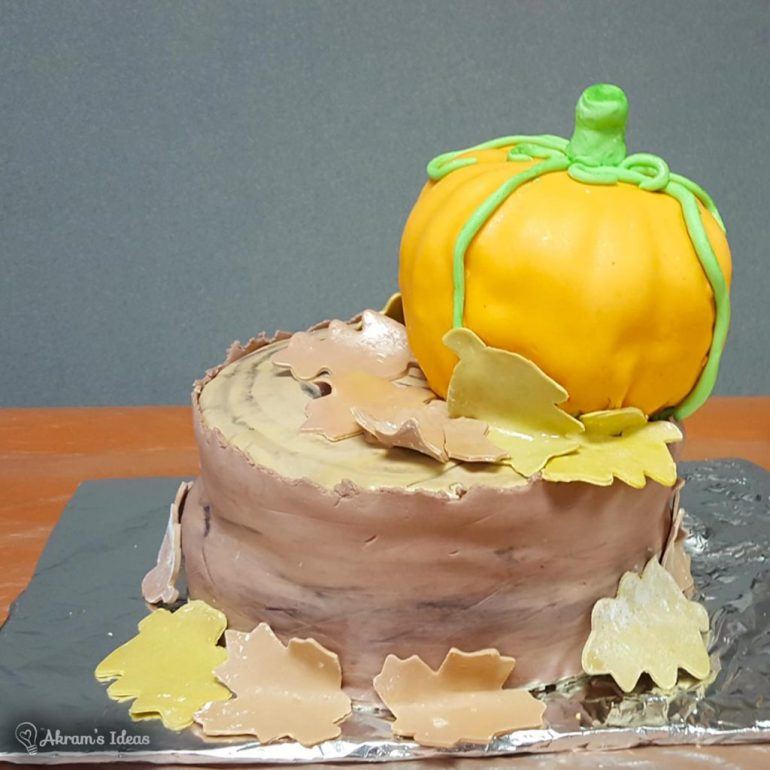 Stacked Pumpkin Cake