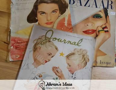 Akram's Ideas: December Vintage Finds