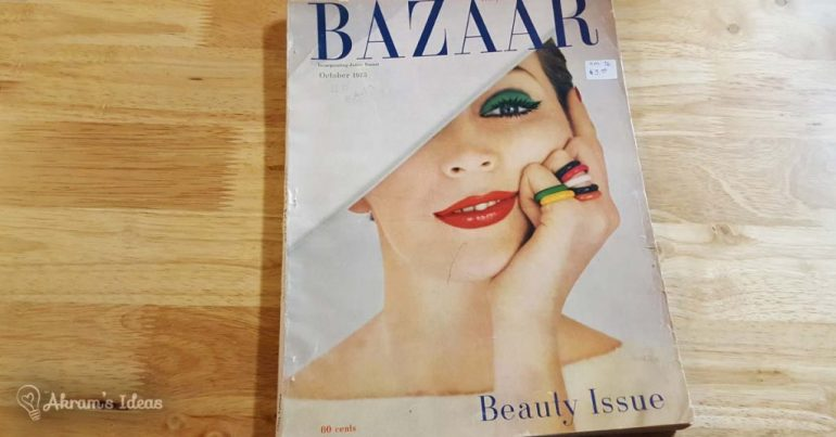 Harper's Bazaar October 1955