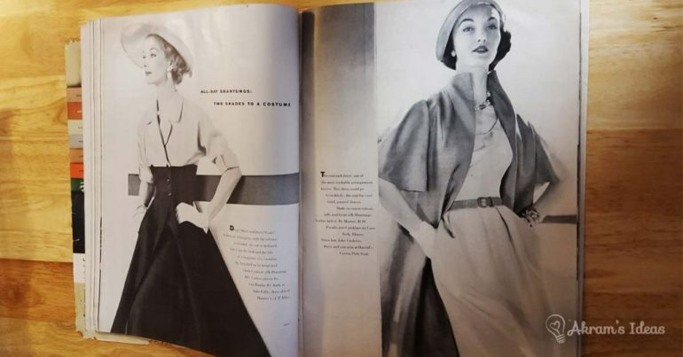 Vogue June 1951 - Fashion