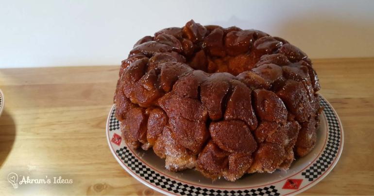 Akram's Ideas monkey bread