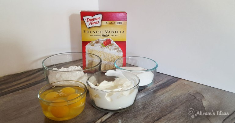 Akram's Ideas: French Vanilla Sour Cream Owl Cupcakes Ingredients