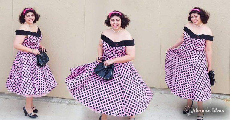Akram's Ideas: Modcloth Boston Dream Pie Dress