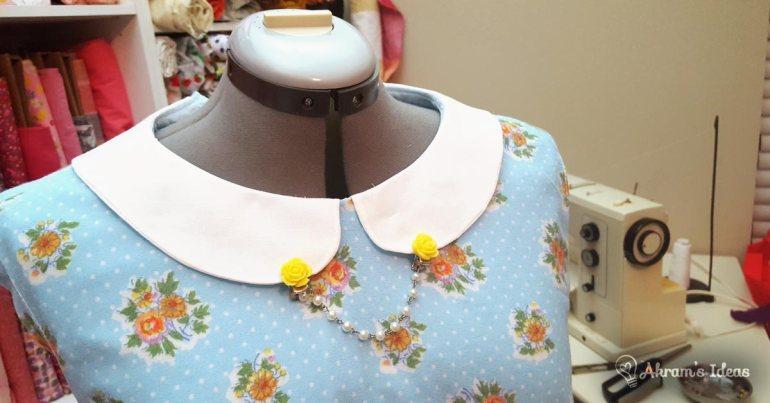 Akram's Ideas - collar detail