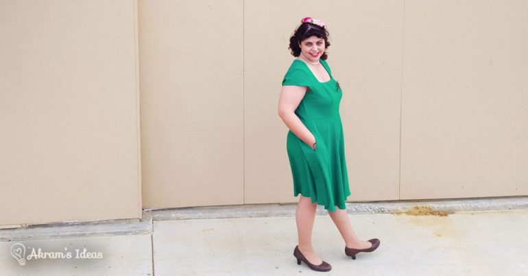 Akram's Ideas: Shamrock Cornerstone of Classy Dress from Modcloth
