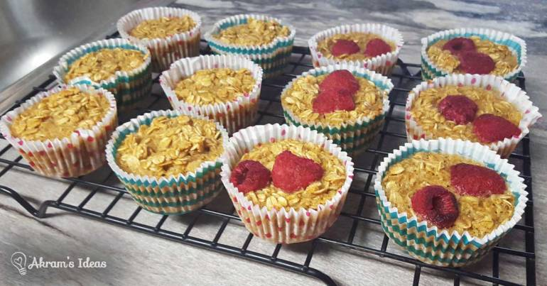 Akram's Ideas: Oatmeal Breakfast Muffins