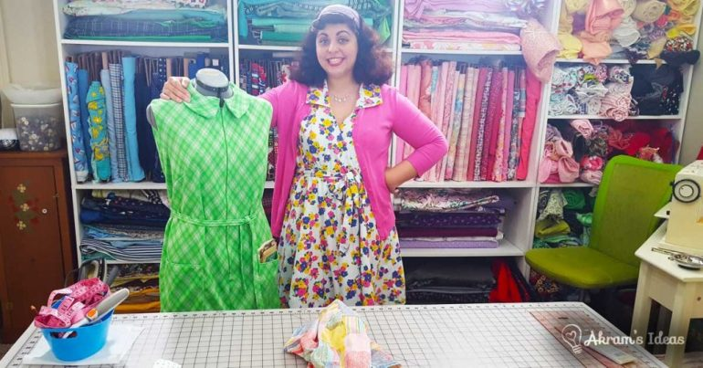 Akram's Ideas: Learn to Sew Facing