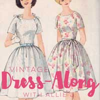 Bernina Vintage Dress Along with Allie J