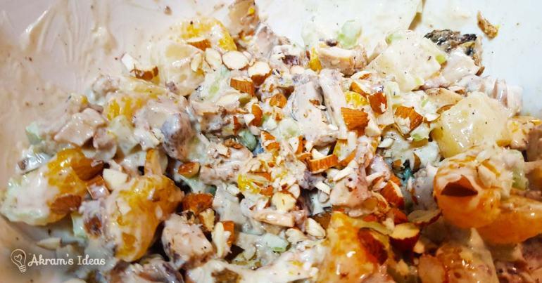 Akram's Ideas: Teriyaki Chicken Salad