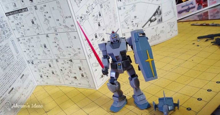 Akram's Ideas - my Gundam Model