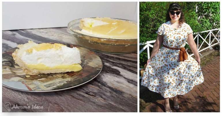 Akram's Ideas pie and dresses