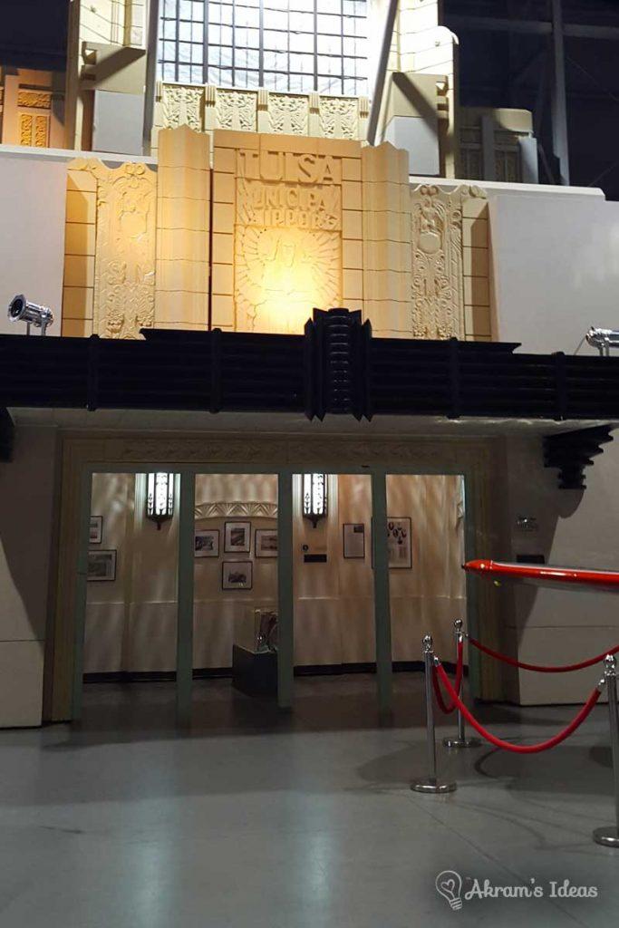 Review of TASM an aerospace museum in the heart of Tulsa Oklahoma. This facility includes tons of Oklahoma aerospace memorabilia and planetarium.