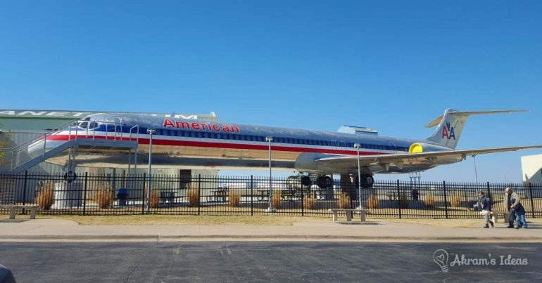 Review of TASM an aerospace museum in the heart of Tulsa Oklahoma. This facility includes tons of Oklahoma aerospace memorabilia and planetarium.