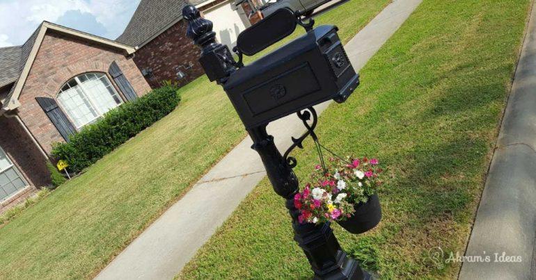 Akram's Ideas: Mailbox Flowers