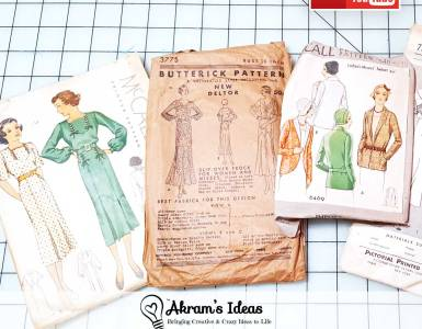 Recap of the sewing and vintage haul fave finds I picked up this fall and quick review of the Vintage Tulsa Show.