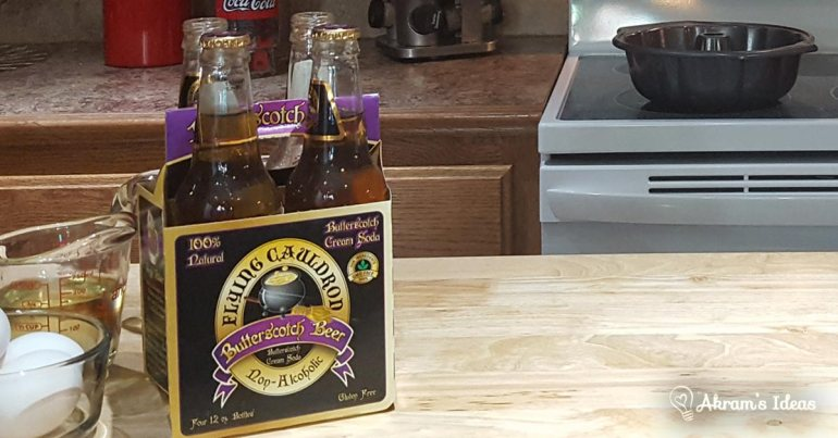 Akram's Ideas: Butterscotch beer