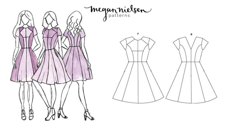 Megan Nielsen Karri Dress Pattern