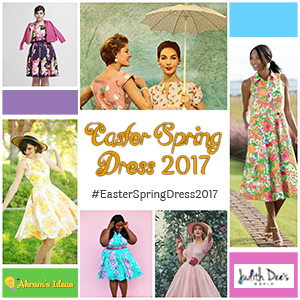 #EasterSpringDress2017 Badge