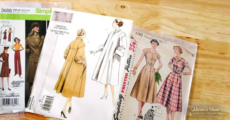 The Vintage Pledge returns for 2017 and here are my sewing plans for this fun vintage sewalong.