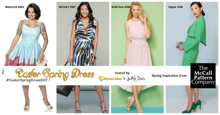 Akram's Ideas: #EasterSpringDress2017 McCall Giveaway
