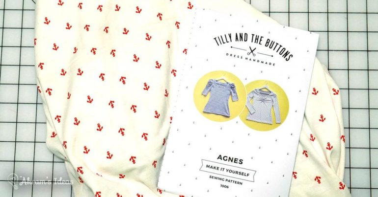 Akram's Ideas: Anchor knit and Agnes Top