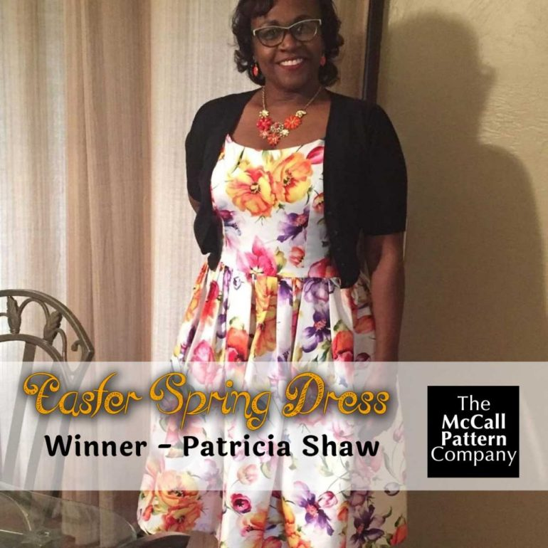 Patricia Shaw make of Butterick 6453