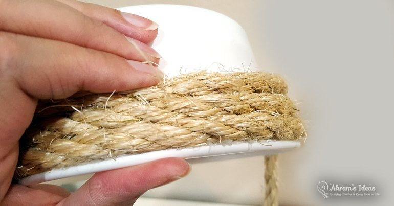 Akram's Ideas: DIY Rope Basket