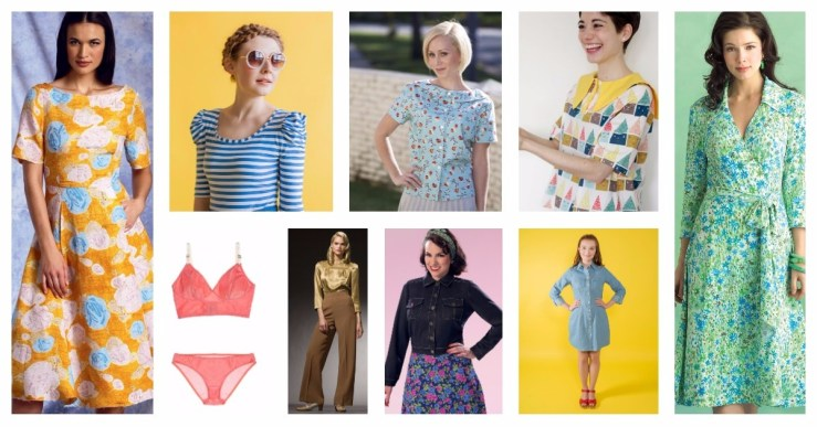 A quick updated and revisions on my 2017 Make Nine pledge, the nine sewing patterns I hope to make this year.