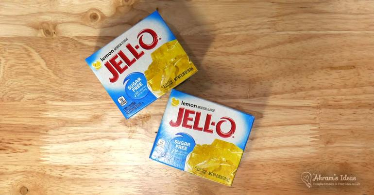 sugar-free lemon jello
