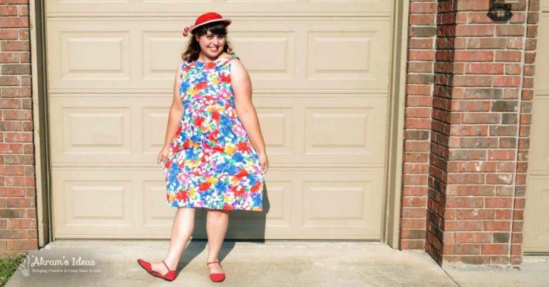 Akram's Ideas: Moneta Dress