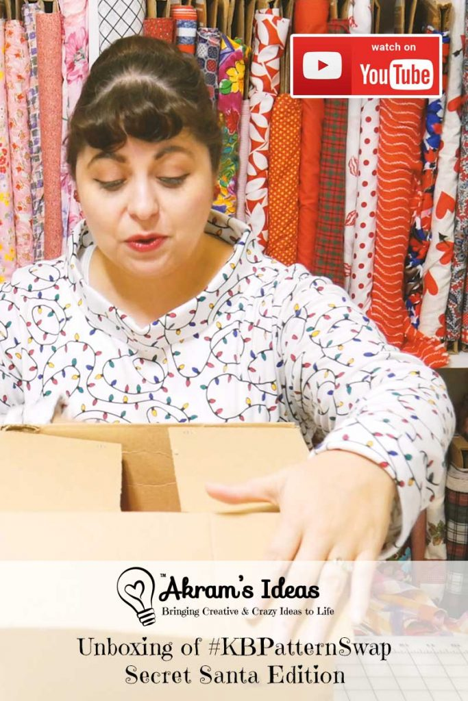 Unboxing of my #KBPatternSwap Secret Santa Edition gifted from Natural Dane and hosted by Kittenish Behavior.