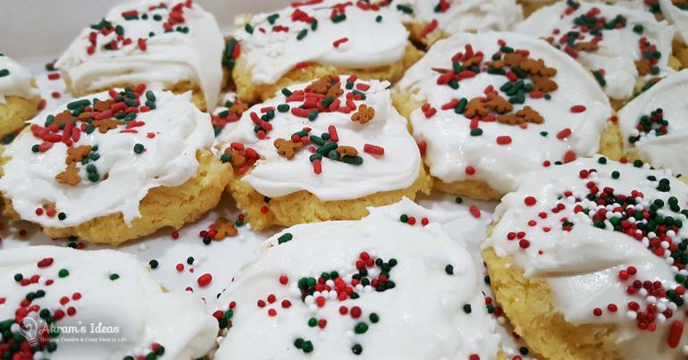 Recipe for making homemade royal icing to top your holiday cookies.